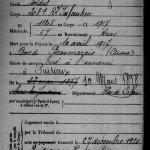 Soldats de Rumigny tués au combat 1914-1918